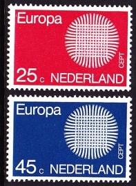 NVPH  971/972 Europa-Cept Postfris