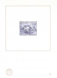 NVPH BD4 Blauwdruk  2006 Cataloguswaarde 5,00