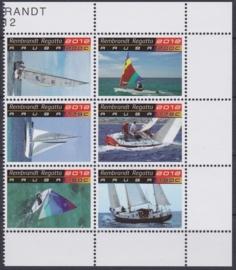 NVPH  617-622  Rembrandt Regatta Zeilboten / schepen Postfris  2012 A-0876