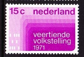 NVPH  984 Volkstelling Postfris
