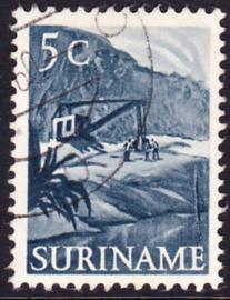 Plaatfout Suriname 299 P1  gebruikt