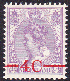 NVPH   106 Opruimingsuitgifte Postfris Cataloguswaarde 9.00