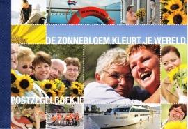 Prestigeboekje  PP6 De Zonnebloem kleurt je wereld