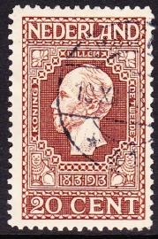 NVPH   95 Jubileum 1913 gebruikt Cataloguswaarde 15.00  E-2076