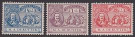 NVPH   87-89 Michiel de Ruyter Ongebruikt  Cataloguswaarde 16.00  E-4666