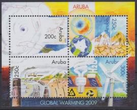 NVPH  423  Opwarming van de Aarde 2009 Postfris  A-0881