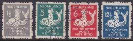 NVPH R82-85 Roltanding Kind 1929 Gebruikt Cataloguswaarde 30.00  E-4621