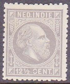 Plaatfout Ned. Indie 10 P Ongebruikt  E-6392