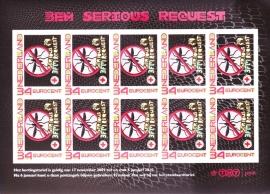 Persoonlijke Postzegels 3FM Serious request A-0290