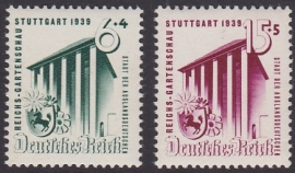 Mi 692-693 Reichsgartenschau Stuttgart Postfris Cataloguswaarde: 20,00 E-2903