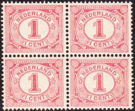Plaatfout   51 PM8 Postfris in blok van 4 Cataloguswaarde: 180,00+++