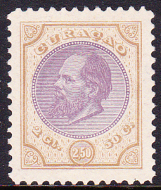 NVPH   12A  Koning Willem III  Cataloguswaarde 60,00