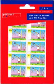 NVPH 1763 Hangzakje ''10 om te scoren FC Knudde Postfris