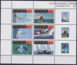 NVPH  617-622  Rembrandt Regatta Zeilboten / schepen Postfris  2012 A-0875