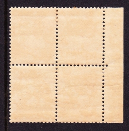 NVPH 117 Postfris blokje van 4  CW 20.00
