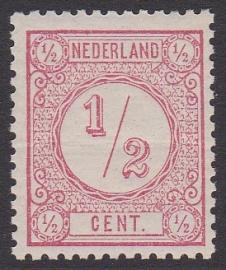 NVPH   30EII  Cijferzegel Ongebruikt  cataloguswaarde 34.00 E-4635