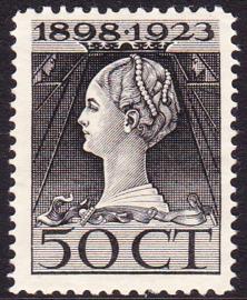 NVPH 128 Regerings Jubileum Postfris Cataloguswaarde 60.00