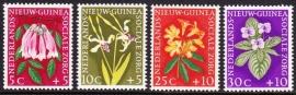 NVPH 57-60 Sociale zorg ''bloemen'' Postfris cataloguswaarde 4,00 E-2230