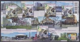 NVPH 2790  Mooi Nederland Eindhoven 2011  Gestempeld cataloguswaarde 5,00 A-0818