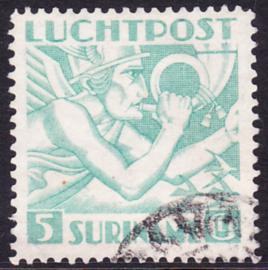 NVPH LP18 de 5 gulden  Mercuriuskop 1941 gestempeld cataloguswaarde: 425,00