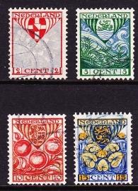 NVPH  199/202 Kinderzegels 1926 Gebruikt  Cataloguswaarde 11.00 E-2973