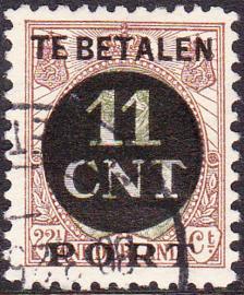 NVPH PV 1B Postpakket-verrekenzegel  gebruikt Cataloguswaarde 4.50