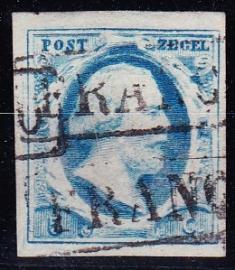 NVPH   1 Koning Willem 3 gebruikt Cataloguswaarde 45.00 E-2735