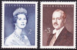 Liechtenstein 1960 Mi: 402-403 Postfris / MNH