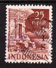 NVPH  25 RIS  Dubbel Gestempeld cataloguswaarde 9.00 E-3733