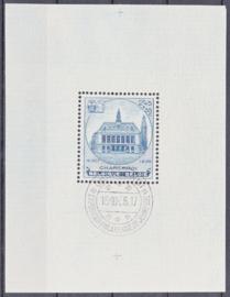 OBP  437  BL6 Tuberculose bestrijding 1936 Gebruikt / Used Cataloguswaarde: 65,00 A-0513