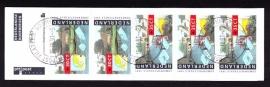 Postzegelboekje 41 Gestempeld (filatelie)