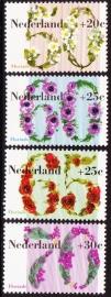NVPH  1262-1265  Zomerzegels Floriade 1982 Postfris