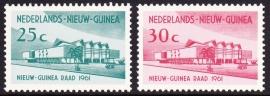 NVPH 67-68 Nieuw Guinea Raad Postfris cataloguswaarde 0,80 E-2232