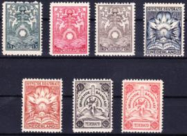 Brandkast BK1 / BK7 Prachtig Origineel Postfris Cataloguswaarde 1500.00