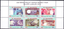 NVPH   2-7 Papiergeldbeurs Maastricht 2011  Postfris