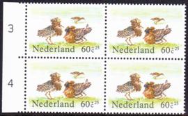 Plaatfout  1302 PM1  Postfris in blok van 4 Cataloguswaarde 11,00  E-2427