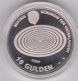 10 Gulden 1999 Millenium tientje Zilver  (Proof)