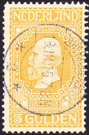 NVPH  100 Jubileum 1913 gebruikt Cataloguswaarde 45.00