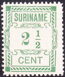 Plaatfout Suriname 66 P   Postfris