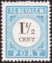 Port P4A TYPE I Cijfer en waarde in zwart Ongebruikt cataloguswaarde 35.00
