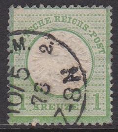 Mi    7 Freimarken: Adler mit kleinem brustschild Gebruikt / Used Cataloguswaarde: 70,00 E-2997