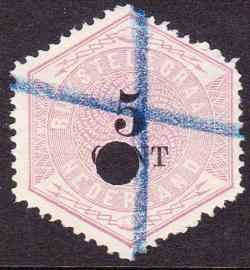 NVPH TG3 Telegram  Gebruikt    Cataloguswaarde 10,00