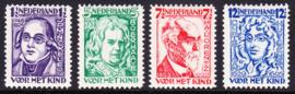 NVPH 220-223 Kinderzegels 1928 Postfris Cataloguswaarde 48.00