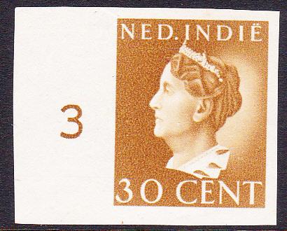 Nederlands-Indië  Proef 232 ''Konijnenburg''