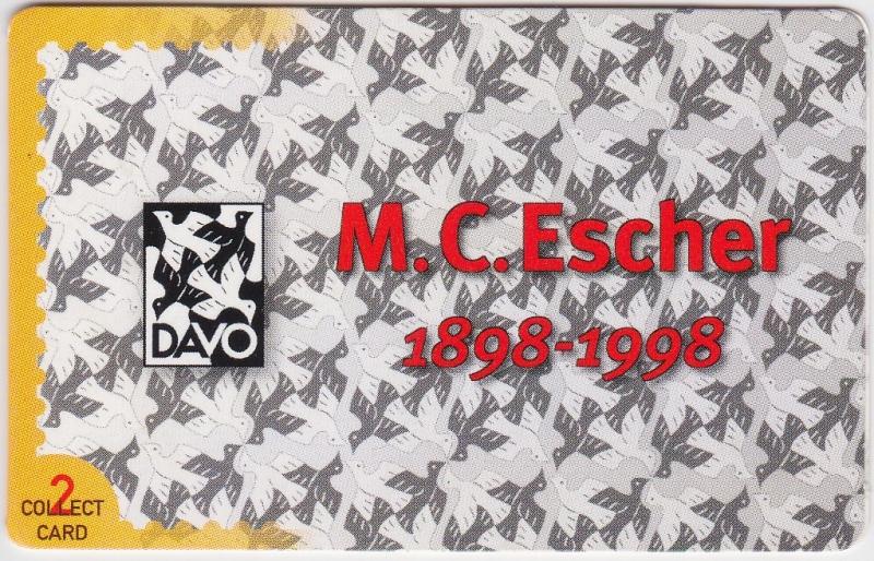 Collect card nr: 2 M.C. Escher
