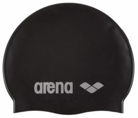 Arena Classic Silicone Badmuts black-silver