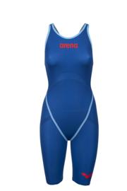 Arena Powerskin Carbon Core FX Open Rug Dames Ocean-Blue