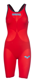 Arena Carbon Air2 Open Rug Dames Rood