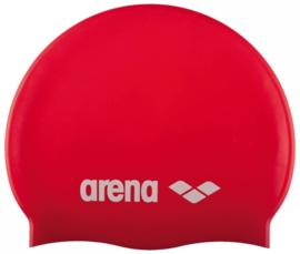 Arena Classic Silicone Junior Badmuts Rood