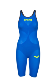 Arena Carbon Air2 Open Rug Dames Blue Yellow